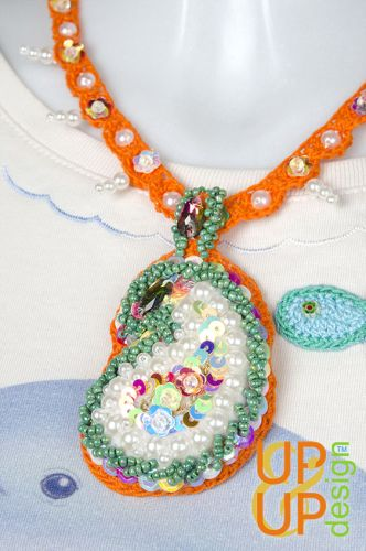 Up & Up Necklace: Beautiful Paisley