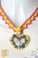 Up & Up Necklace: Life loves me!