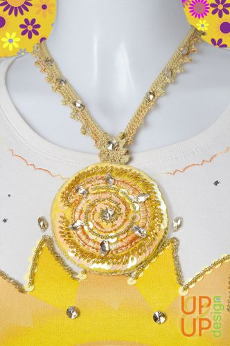 Up & Up Necklace: Spiral of Smile!