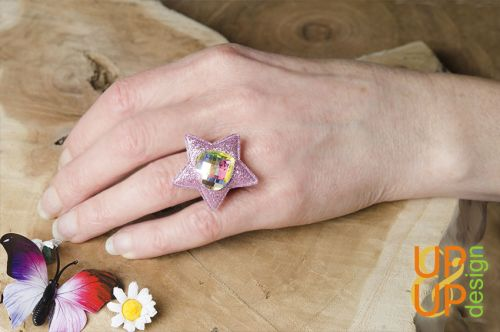 Up & Up Ring: Feeling Good Star!
