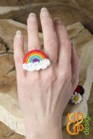 Up & Up Ring: Radiant Rainbow!
