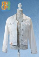 Up & Up upgraded NEW Jeans & Summer white flower Jacket