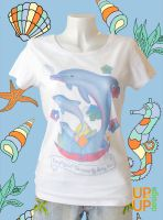 Be playful! Do more by doing less ~ Size L white SU
